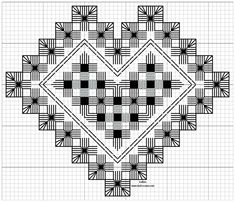 Hardangersøm – Vevstua Bull-Sveen Types Of Embroidery, Learn Embroidery, Embroidery Patterns, Floral Embroidery, Hardanger Embroidery, Cross Stitch Embroidery, Bookmark Craft, Drawn Thread, Creative Embroidery