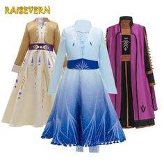 Online Shop from Vestidos Princess Anna Dress, Anna Dress Frozen, Princess Anna Frozen, Elsa Dress, Disney Princess Dresses, Princess Costumes, Bolo Rapunzel, Anna Costume, Designer Evening Gowns