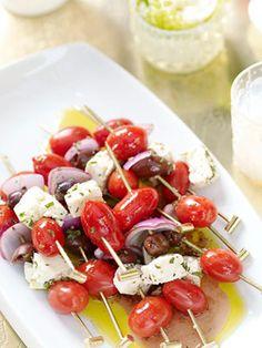 Skewered Greek Salad-- By Giada De Laurentiis