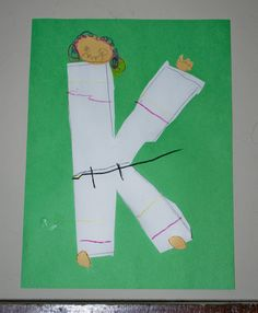 the Letter K for Karate