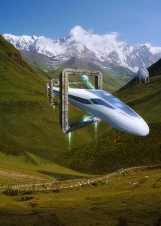 What Real-Life Places Would Look Like With Futuristic Technology