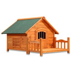 Have to have it. Pet Squeak Porch Pups Dog House - $89.99 @hayneedle
