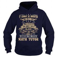 MATH-TUTOR T-Shirts, Hoodies (35.99$ ==► Order Here!)