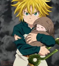 Elizabeth and Meliodas - Nanatsu no Taizai , Anime Angel, Anime Kiss, Akatsuki, Seven Deadly Sins Anime, 7 Deadly Sins, Otaku Anime, Manga Anime, Sir Meliodas, Meliodas And Elizabeth