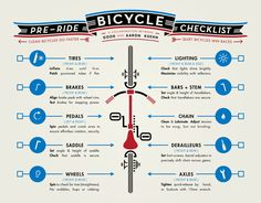 Get Your Bike Ready for a Ride with This 10-Point Checklist