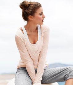 Gym clothing #comfy #bun