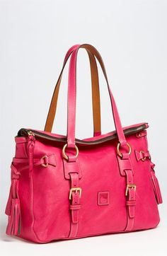 Dooney & Bourke 'Florentine' Vachetta leather satchel.  I'm loving this!! http://bit.ly/HPhoh6