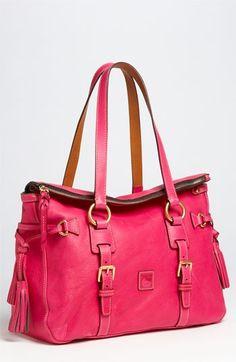 Dooney & Bourke 'Florentine' Vachetta leather satchel.  I'm loving this!! http://bit.ly/HPhoh6