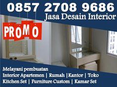 New Apartment Modern Bedroom Interiors Ideas Apartment Interior Design, Apartment Furniture, Apartment Kitchen, Apartment Ideas, Kitchen Furniture, Interiors Online, Hotel Interiors, Bedroom Interiors, Jakarta