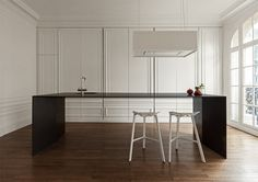 Invisible kitchen by I29 Interior Architects ping @Tommi Merelin