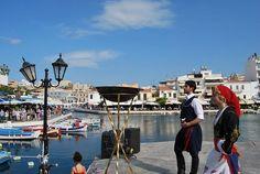 Must see in Agios Nikolaos Crete Island, Greece Islands, Jacques Yves Cousteau, Athena Goddess, Crete Greece, Santorini, Abandoned, Street View, Park
