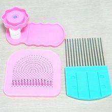 3PCS scrapbooking papír frézování nástroj papír válcování kladiva quilling hřeben quilter Mřížka řemeslo DIY ruční dekorace nástroj (Čína (pevninská část))