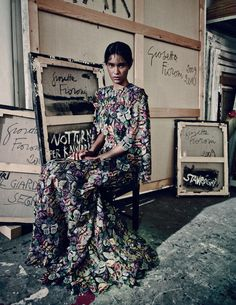 The New Valentino Photograph by Paolo Roversi; W magazine September 2014.