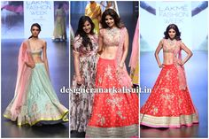 Anushree Reddy at Lakme Fashion Week Winter/Festive 2016 | Designer Anarkali Suit