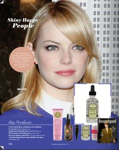 Love to create Emma Stone's shiny strands? Moroccan Organics Argan oil is a pretty 'roccan option!