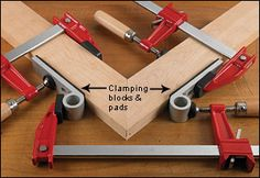 Blokkz Clamping Blocks - Woodworking