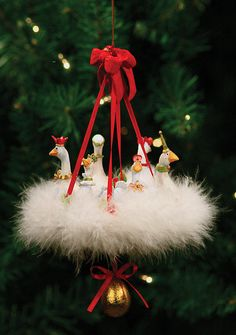 Patience Brewster Christmas Ornaments | Patience Brewster Six Geese A Laying Ornament | | Holiday Ornaments ...