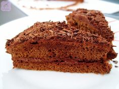 Tarta de chocolate (con mucho, muchísimo chocolate)