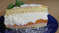 Tvarohovo-smotanová torta :: Recepty-lurdes Vanilla Cake, Sweet Recipes, Cheesecake, Desserts, Food, Basket, Tailgate Desserts, Deserts, Cheesecakes