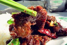 Flank Steak Mongolisch, Rezept fürs Segeln