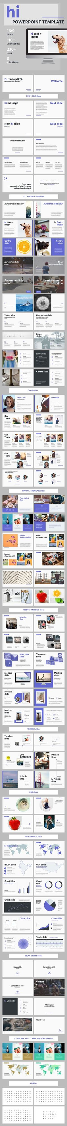 hi - Quality PowerPoint Template - Creative PowerPoint Templates