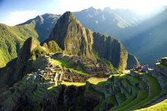 Located almost eight thousand feet above sea level in Peru, Machu Picchu is one of the most amazing feats of architecture in the world.