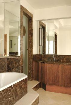 Eclectic Furniture, Furniture Design, Dressing Ikea, Bathroom Inspiration, Design Inspiration, Bathroom Ideas, Interior Architecture, Interior Design, Charlotte Perriand