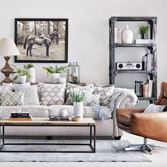 ▷ 1001 + ideas de colores que combinan con gris para decorar tu casa Decoración de habitación gris Salones grises Decoración gris