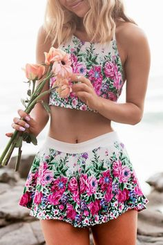 Imagem de flowers, fashion, and outfit