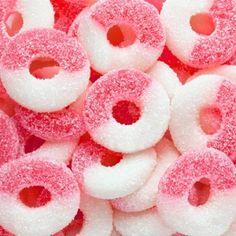 Pink & White Gummy Rings