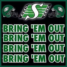 ❤️ Bring Em Out, Go Rider, Saskatchewan Roughriders, Sports Signs, Green Colors, Football, Pride, Cricut Design, Fans
