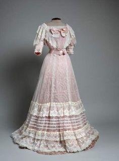Edwardian Evening dress 1905