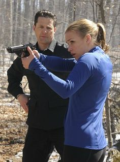 Still of Piper Perabo and Tim Guinee in Covert Affairs (2010)#CovertAffairsSweepsEntry