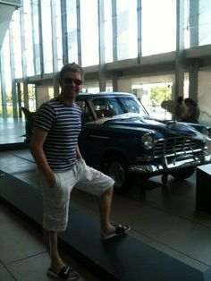 """NEIL TWEETED THIS... Neil Byrne@neilbyrne_CT Just found myself a """"Holden utility"""" at the Mebourne museum :) pic.twitter.com/omDSx5yu"""