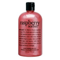 Philosophy Raspberry Sorbet: Body Cleanser | Sephora