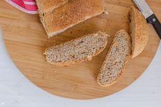 Pão de frutos secos e sementes