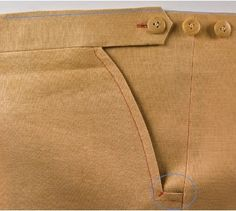 DPC On Making Trousers: A Moveable Waist, Extras; Part 7 (start with part 1)