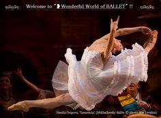 "❥Natalia Osipova, ""Laurencia"" Mikhailovsky Ballet (© Stas Levshin) https://www.facebook.com/groups/W.W.Ballet/"