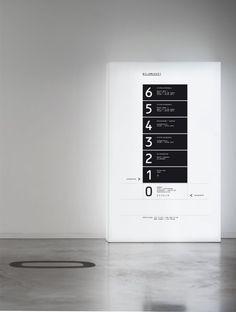 Genial el diseño de identidad de Bild museet por SDL. SDL Environmental Graphics, Environmental Design, Directory Signs, Navigation Design, Wayfinding Signs, Office Signage, Sign System, Building Signs, Logo Sign