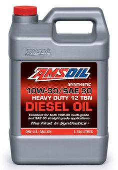 See AMSOIL 10W-30/SAE 30 Premium Diesel Oil at http://shop.syntheticoilandfilter.com/motor-oil/diesel/synthetic-sae-10w-30-sae-30-heavy-duty-motor-oil/