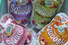 Enter to #Win A Sampler Pack of Squoosh #organicbabyfood   #giveaway  ends 10/3 US/CAN