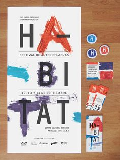HABITAT | Festival de Arte on Behance