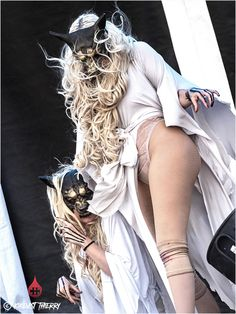 Epic Firetruck's Maria Brink & In This Moment - Photo by Kikevist Thierry ~ Maria Brink, Goth Beauty, Dark Beauty, Pop Rock, Rock And Roll, Ladies Of Metal, Heavy Metal Girl, Women Of Rock, Rocker Girl