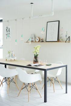Een blog vol Scandinavische wooninspiratie! Dinner With Friends, Scandinavian Interior, My Dream Home, Sweet Home, New Homes, Home And Garden, Room Decor, House Design, Flooring
