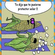 Humor: Buenos días ya queda menos para el finde Cuidadito con tomar tanto el sol este  verano Compártelo