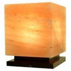 Natural Himalayan Salt Cube Lamp