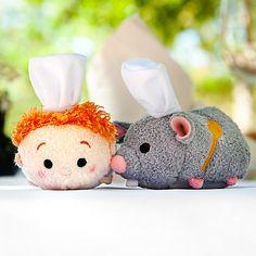 Remy ''Tsum Tsum'' Plush - Ratatouille - Mini - 3 1/2''