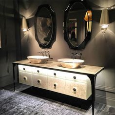Classic | Mitage by Millldue soon in our showroom | #waterbox #waterboxmiami #showroom #miami #bath #banheiro #bathroom #bathdesign #interiordesign #architecture #arquitetura #sink #vanity #faucet #bathideas #luxuryproject #highend #homedecor #decor #design #isaloni2016 #isaloni #milanfurnitureshow #cristinasouza #monicasouza #avantdesign #salonedelmobile2016 by souzacristina