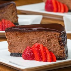 Chocolate Mousse Cheesecake Recipe by Tasty