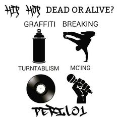 """It seems lile all elements of hip hop have been """"trashed"""". Hip Hop as a culture would never die. Many people are just getting themselves involved with the culture and fucking it up and trashing it because they honestly don't know what """"Hip Hop"""" is. You honestly won't know why these are all hip hop elements and how they relate unless you grew up in the streets and can do them all. The easiest ones to understand though are rap and dj'ing.  Graffiti is my most favorite element of Hip Hop. Then…"""